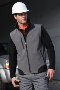 Produktfoto Result Herren Fleece gefütterter Softshell Outdoor Bodywarmer