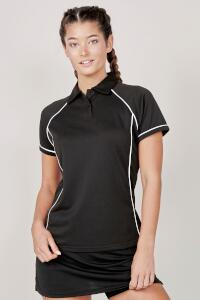 Produktfoto Finden+Hales Performance Damen Fitness Poloshirt (Funktions Polo)