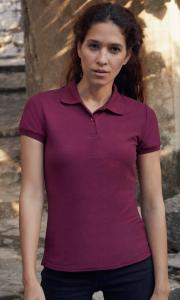 Produktfoto Fruit of the Loom 65/35 Damen Poloshirt (60 Grad waschbar)