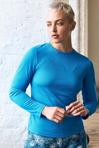 Produktfoto Just Cool Girlie Damen Langarm Sport T Shirt mit UV-Schutz