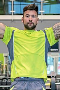 Produktfoto Spiro Herren Trainings T Shirt