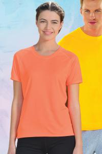 Produktfoto Starworld Damen Trainings T-Shirt (auch in Fluo-/Neonfarben)