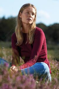 Produktfoto Neutral Damen Langarm T Shirt aus Fairtrade Bio Baumwolle